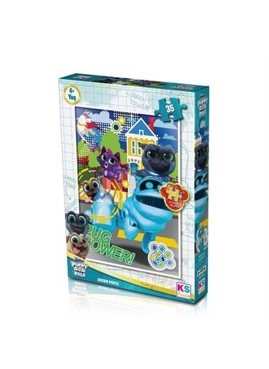 KS Puzzle KS Puzzle POP706 Puppy Dog Pals Temalı 35 ParÇa Çocuk Puzzle Renkli